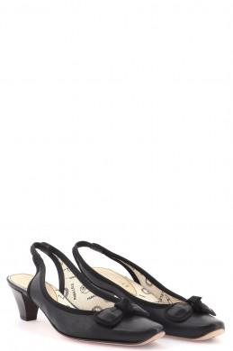 Chaussures Escarpins PARALLELE NOIR
