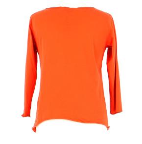Vetements Tee-Shirt AGNES B. ORANGE