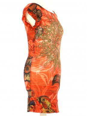 Vetements Robe DESIGUAL MULTICOLORE