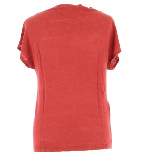 Vetements Tee-Shirt COMPTOIR DES COTONNIERS ROUGE