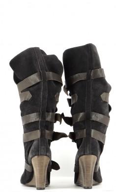 Chaussures Bottes SANDRO GRIS