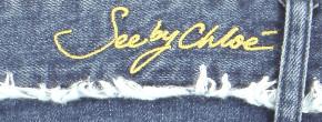 Vetements Jeans SEE BY CHLOÉ BLEU