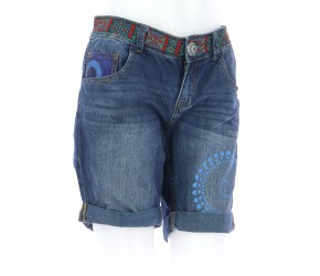 Vetements Short DESIGUAL BLEU