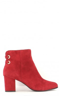 Chaussures Bottines / Low Boots MINELLI ROUGE