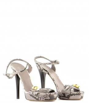 Chaussures Sandales GUCCI GRIS