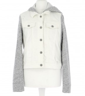 Vetements Blouson HOLLISTER BLANC