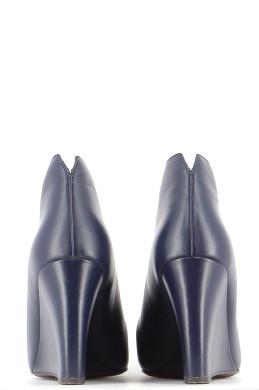 Chaussures Bottines / Low Boots MARC JACOBS BLEU MARINE