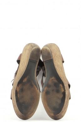 Chaussures Sandales MINELLI CHOCOLAT