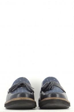 Chaussures Mocassins CLARKS BLEU MARINE