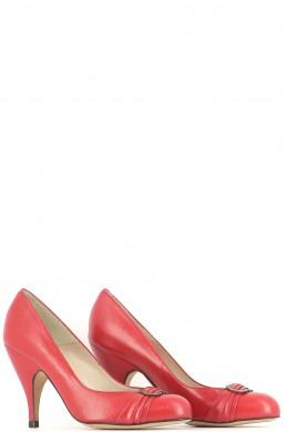 Chaussures Escarpins JB MARTIN ROUGE