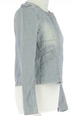 Vetements Veste / Blazer COMPTOIR DES COTONNIERS BLEU CLAIR