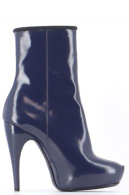 Chaussures Bottines / Low Boots LANVIN BLEU MARINE
