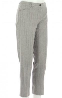Vetements Pantalon PABLO GRIS