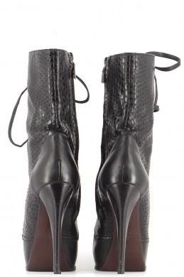 Chaussures Bottines / Low Boots LANVIN NOIR