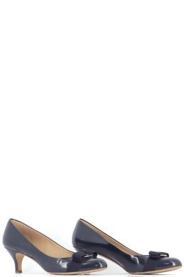 Chaussures Escarpins SALVATORE FERRAGAMO BLEU MARINE
