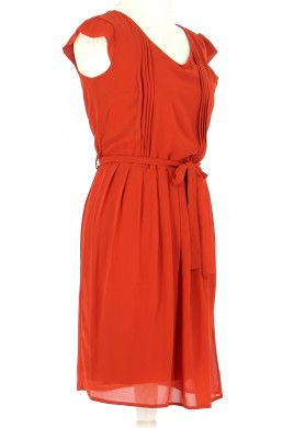 Vetements Robe LA FEE MARABOUTEE ORANGE