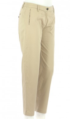 Vetements Pantalon IKKS BEIGE