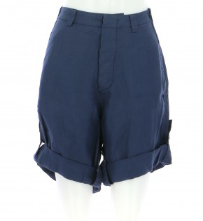 Vetements Short BALENCIAGA BLEU MARINE