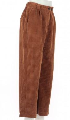 Vetements Pantalon BERSHKA MARRON