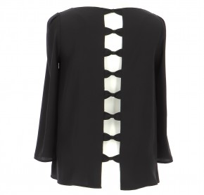 Vetements Blouse CLAUDIE PIERLOT NOIR