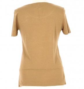 Vetements Tee-Shirt CLAUDIE PIERLOT MARRON