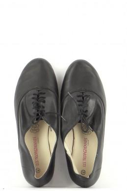 Chaussures Derbies LES TROPEZIENNES NOIR