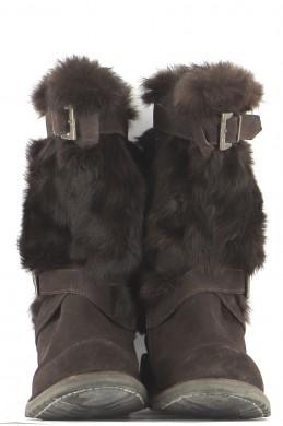 Chaussures Bottes FREE LANCE MARRON