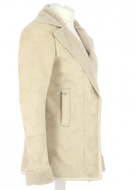 Vetements Manteau IKKS BEIGE