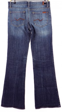 Vetements Jeans 7 FOR ALL MANKIND BLEU