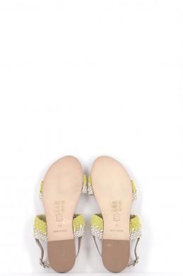 Chaussures Sandales PETITE MENDIGOTE JAUNE