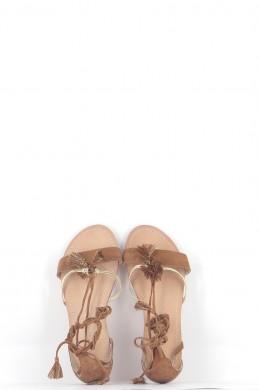 Chaussures Sandales PETITE MENDIGOTE MARRON