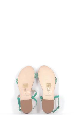 Chaussures Sandales PETITE MENDIGOTE VERT CLAIR