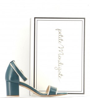 Chaussures Sandales PETITE MENDIGOTE VERT FONCé
