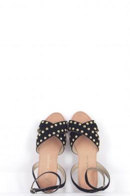 Chaussures Sandales PETITE MENDIGOTE NOIR