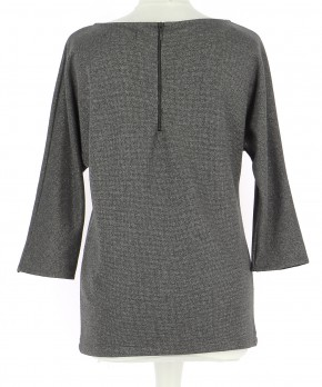 Vetements Top ZARA GRIS
