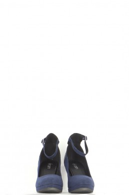 Chaussures Escarpins ERAM BLEU MARINE