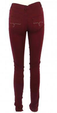 Vetements Pantalon DESIGUAL BORDEAUX