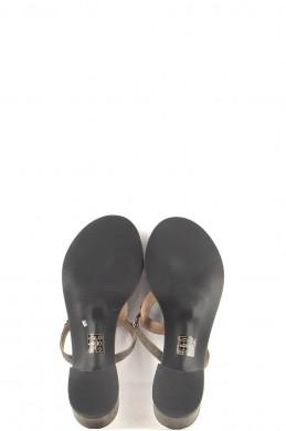 Chaussures Mules ZERIMAR GRIS