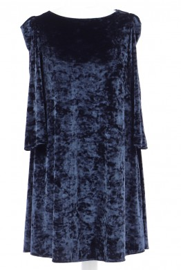 Vetements Robe CLAUDIE PIERLOT BLEU MARINE