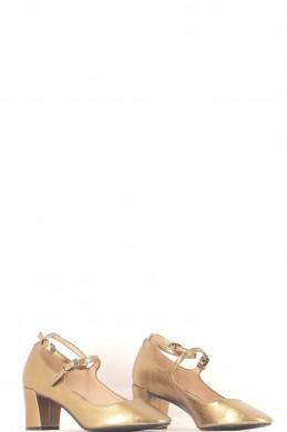 Chaussures Escarpins MANGO OR
