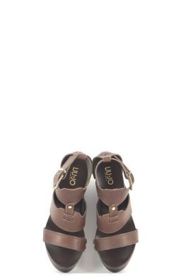 Chaussures Sandales LIU JO MARRON