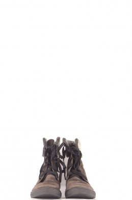 Chaussures Bottines / Low Boots PARALLELE MARRON