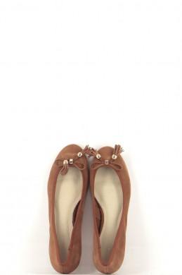 Chaussures Ballerines COSMOPARIS MARRON