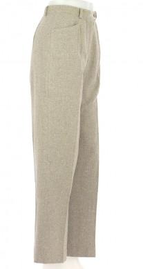Vetements Pantalon 123 BEIGE