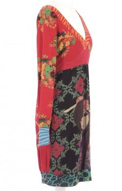 Vetements Robe DESIGUAL ROUGE