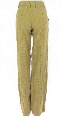 Vetements Pantalon STEFANEL JAUNE