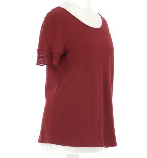 Vetements Tee-Shirt SEZANE BORDEAUX
