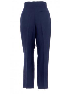 Vetements Pantalon SANDRO BLEU MARINE
