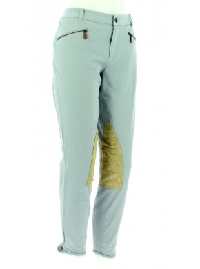 Vetements Pantalon RALPH LAUREN BLEU CLAIR