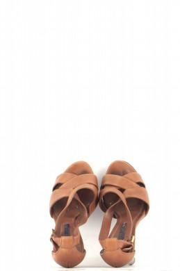 Chaussures Sandales RALPH LAUREN MARRON